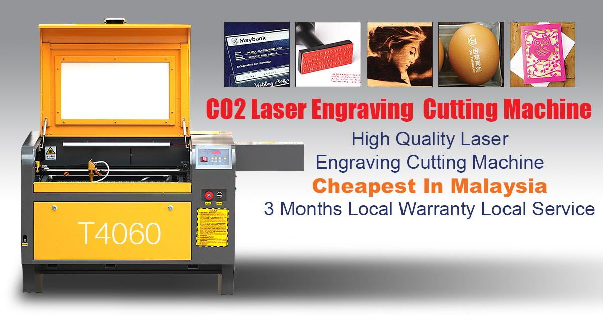 ANTBOT60W CO2 Laser CNC Acrylic Perspex Wood Engraving Cutting Machine
