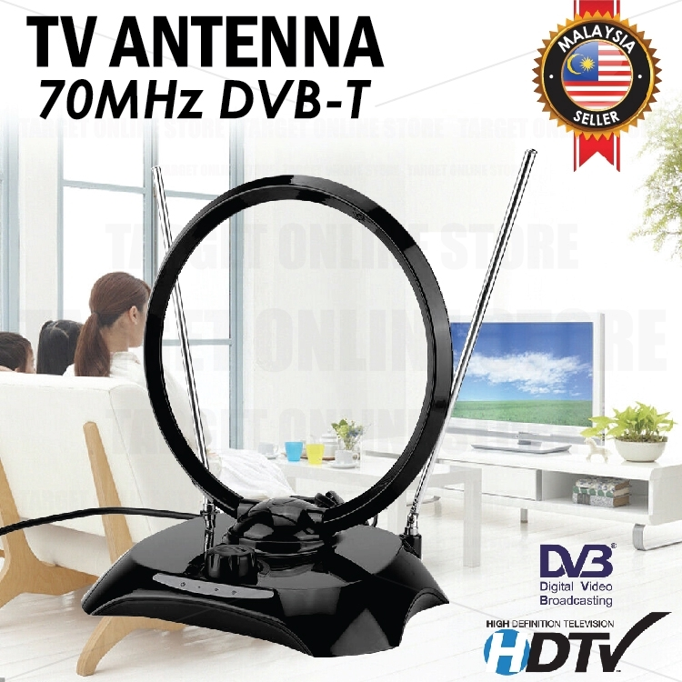 Antenna Receiver Wide Range DVB-T-FD-O Digital TV VHF UHF