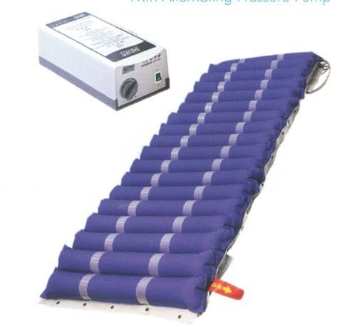 antibedsore alternating pressure mattress tube type with pump