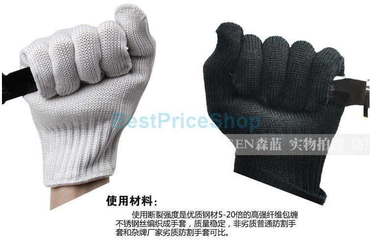 Anti-cut Stab Resistant Cutting Work Labor Protection Cut Safety Arm Sleeve Be Friendly In Use Men's Accessories