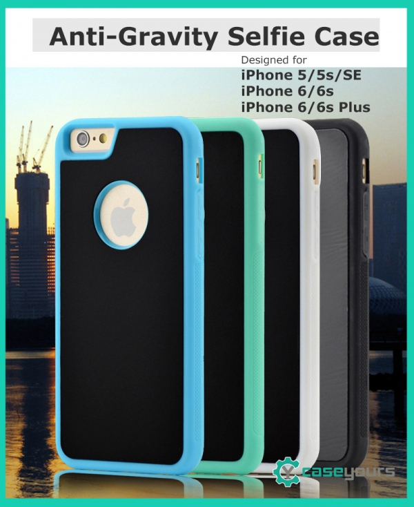 Anti-Gravity iPhone 5s SE 6 6s 7 8  & Plus Sticky Bumper Slim Case Cov