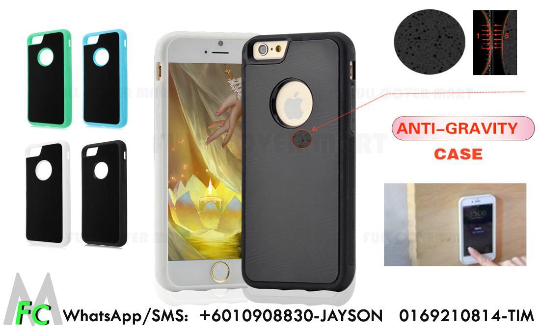 the best attitude 9d22f 12d75 Anti-Gravity iPhone 5s SE 6 6s 7 Plus Sticky Bumper Slim Case Cover M
