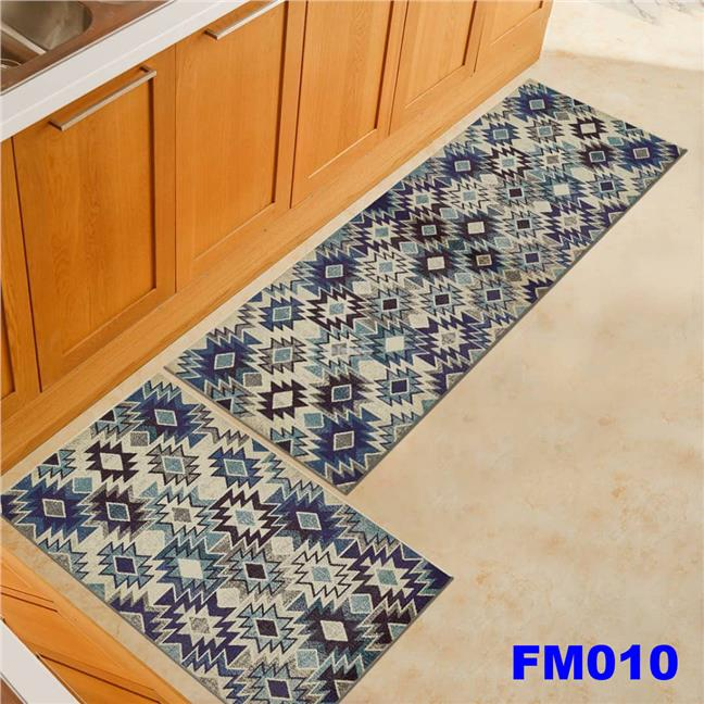 Anti-slip Kitchen Floor Mat Set of 2pcs FM09-FM012