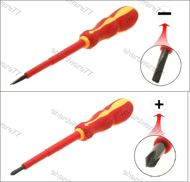 Anti-Static Electrician Insulated Screwdriver (W0299) (Open Stock)