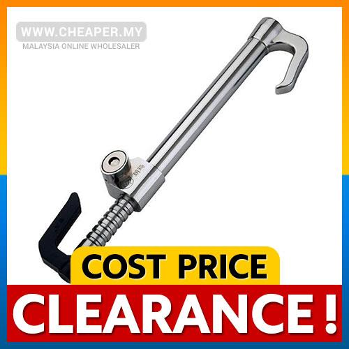 Anti-Thef Fully Stainless Steel Pedal Steering Lock with Special Key