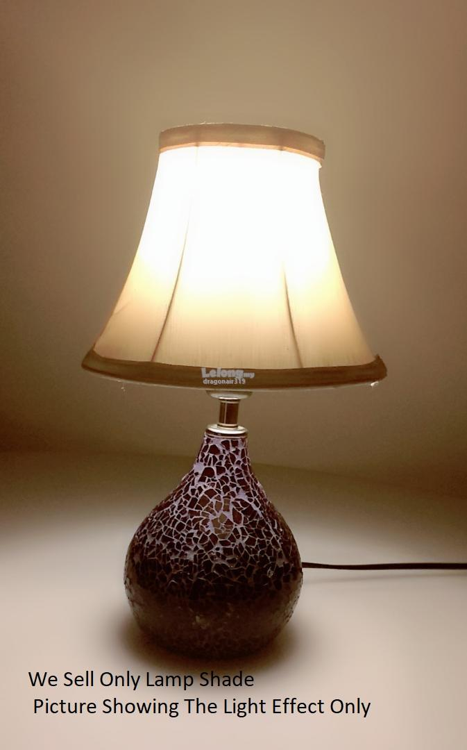 Antique Silk Bell Lamp Shade