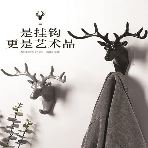 *** Antlers American home decoration hook wall shelf wall hanging crea