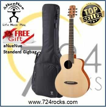aNueNue M1 Newborn Bird Acoustic Guitar With Free Gigbag