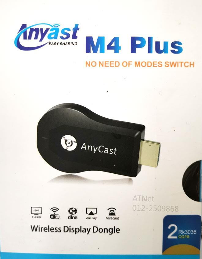 ANYCAST M4 PLUS WIRELESS DONGLE MIRROR SCREEN