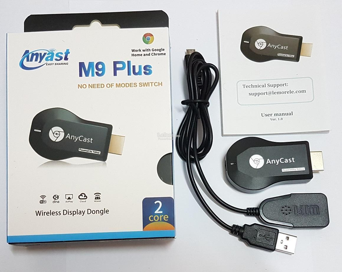 Anycast M9 Plus Hd Wifi Display Dongl End 8 5 2019 223 Pm Wireless Hdmi Dongle Receiver Dlna Airplay Miracast