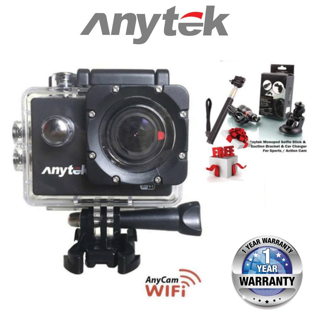ANYTEK AnyCam AC-28 3 in 1 Full HD Action Camera and DVR Functions