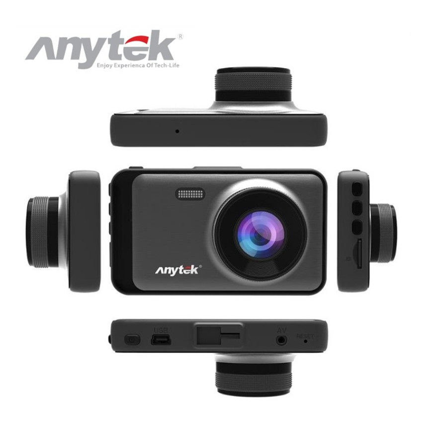 Anytek X31 Dash Cam 3inch 1080p Hd Car Dvr Dual Lens C - [DEVICE ONLY]