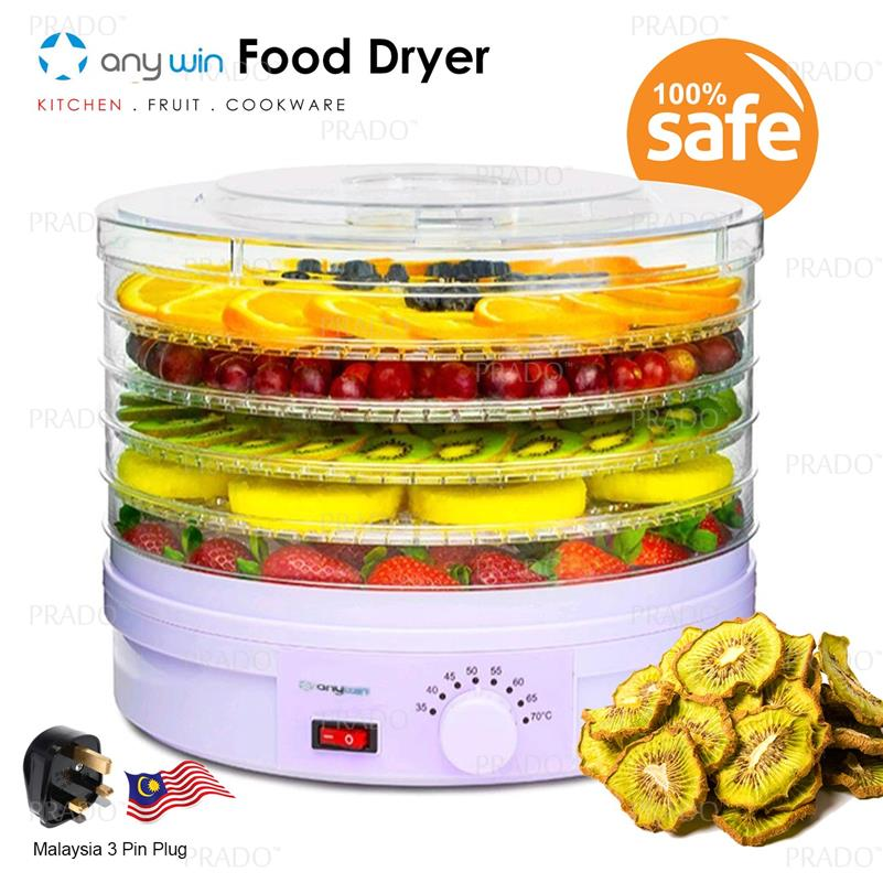 ANYWIN 5 Layers Healthy Fruit Vege Meat Food Snack Dehydrator FD-770