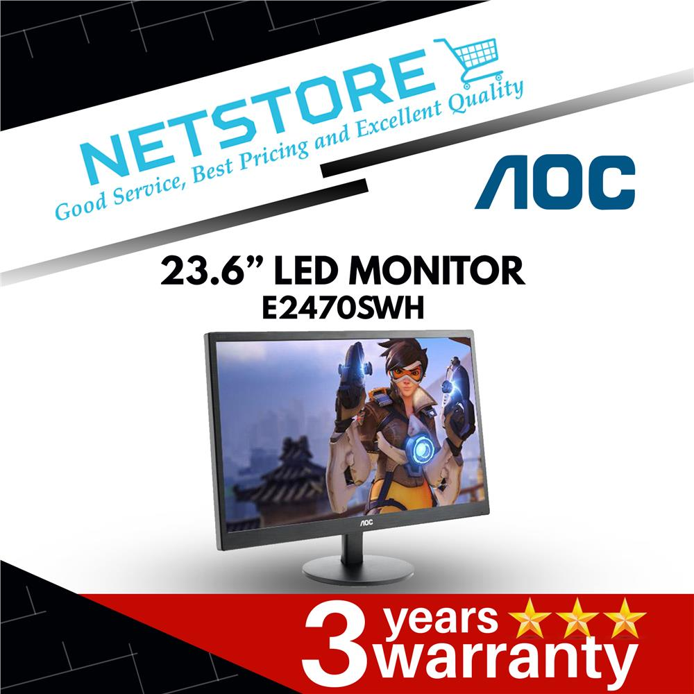 "AOC 23.6"" E2470SWH 