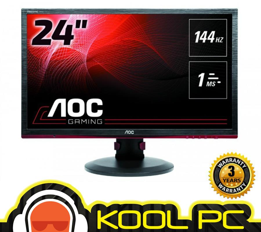* AOC 24? inch G2460PF TN Gaming Monitor 144Hz / FreeSync / 1MS