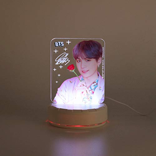 ... Aopostall Kpop BTS Blackpink Night Light Jimin Jungkook RM Lisa Jennie Col
