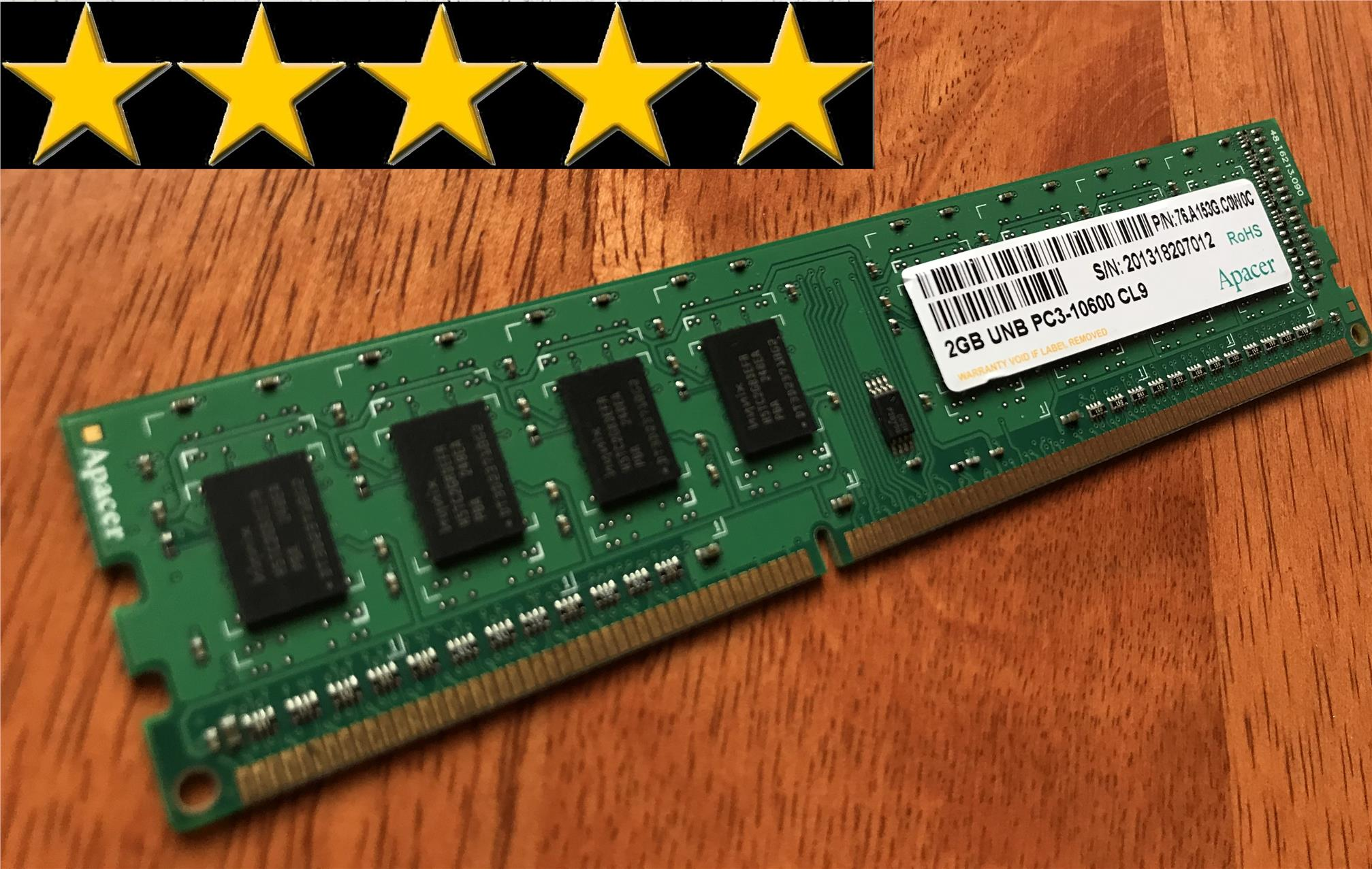 Apacer 2gb Ddr3 1333 Mhz Pc3 10600 End 9 11 2019 1031 Pm Ram Pc Smart 16 Chip Desktop
