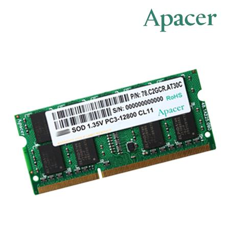 Apacer 4GB DDR3 1600mhz Low Voltage Notebook Ram
