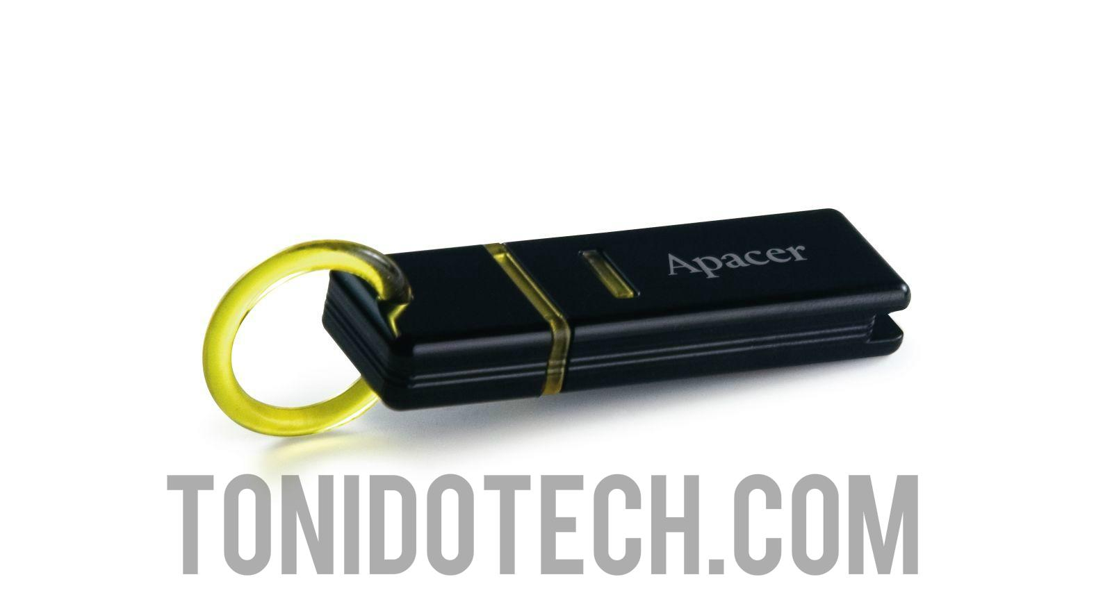 Apacer AH221 2GB USB Pen / Thumb / Flash Drive