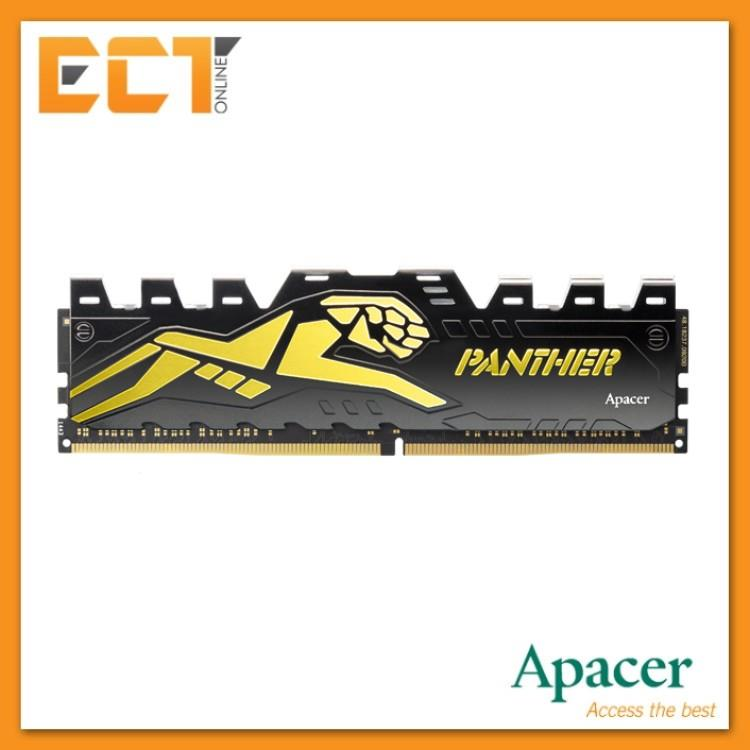 Apacer Panther 8GB DDR4 2400MHZ (PC4-19200) Gaming Desktop PC Memory R