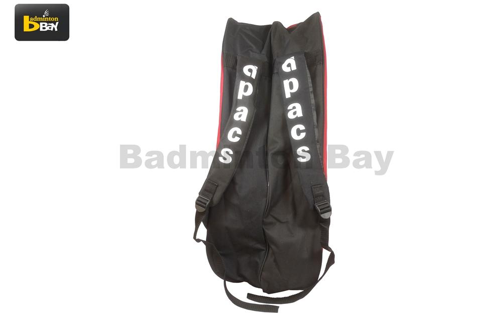 Apacs 2 Compartments Non-Thermal Badminton Racket  Bag AP839 Black