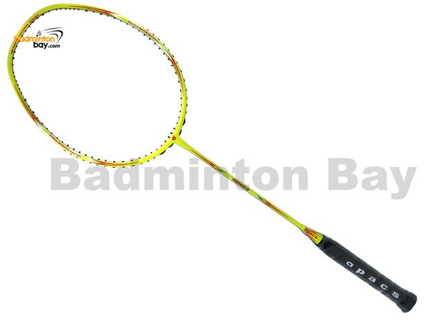 Apacs Virtuoso 68 Lime Green Badminton Racket (6U)