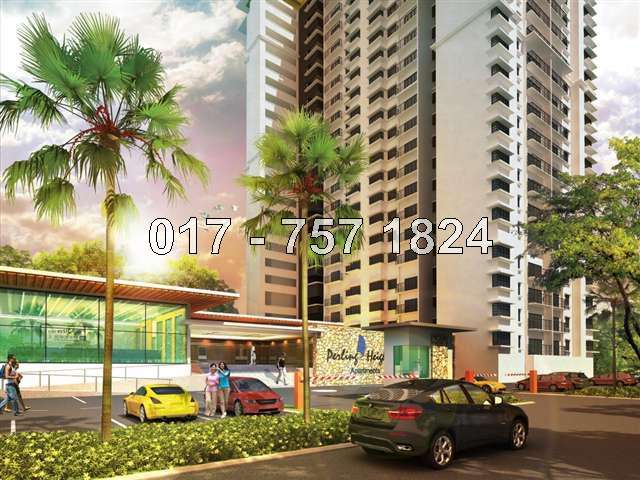 Apartment : Perling Heights Service Apartment, Taman Perling, Skudai