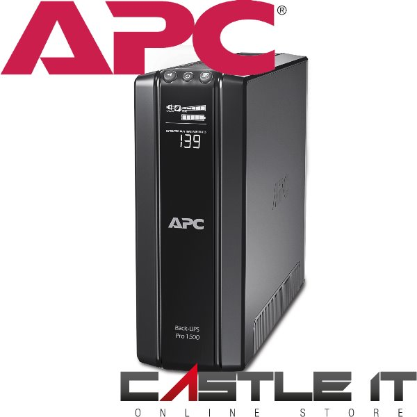 APC BR1500GI 1500VA POWER SAVING BACK PRO UPS WITH AUTO-SHUTDOWN