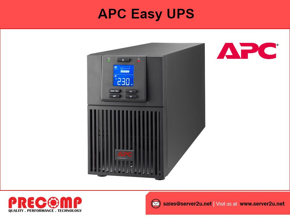 APC Easy UPS SRV 3000VA 230V with External Battery Pack (SRV3KIL)