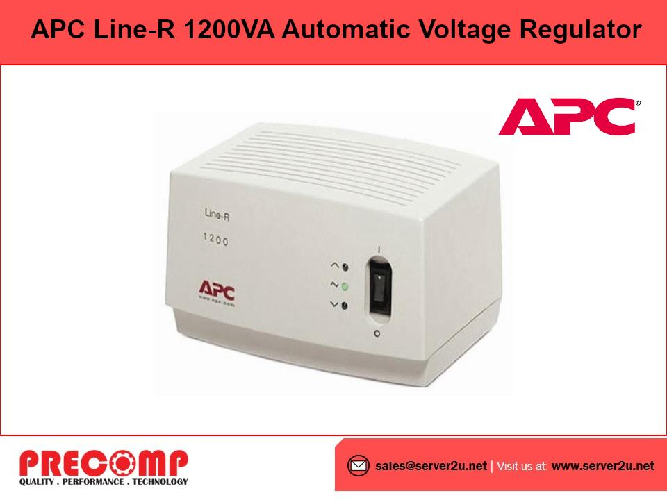 APC Line-R 1200VA Automatic Voltage Regulator (LE1200I)