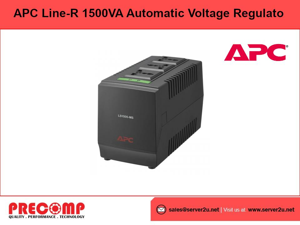 APC Line-R 1500VA Automatic Voltage Regulator (LS1500-MS)