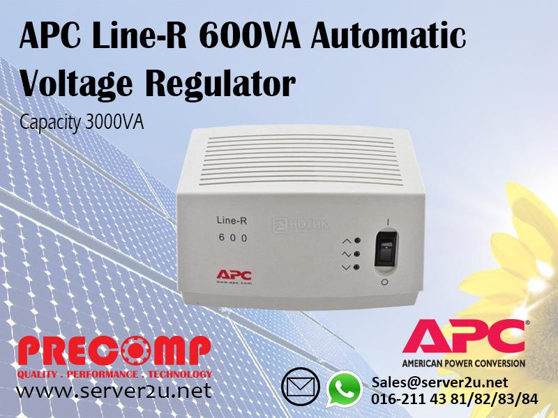 APC Line-R 600VA Automatic Voltage Regulator (LE600I)