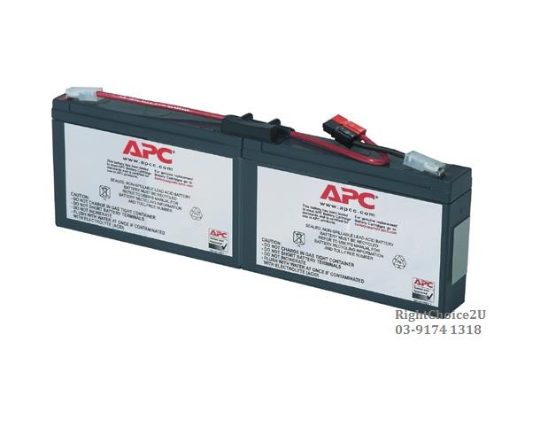 APC Replacement Battery Cartridge #18 ( RBC18 )