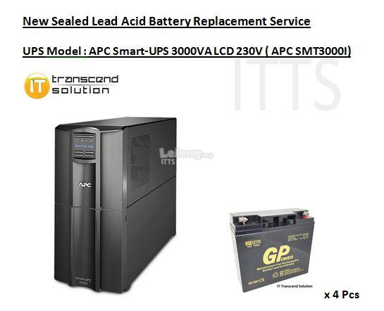 APC Smart-UPS 2200VA LCDTower UPS - Battery Replacement Services)