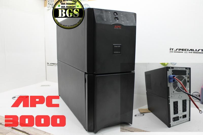 APC SUA3000 Tower UPS 2700W 3000VA With New Battery