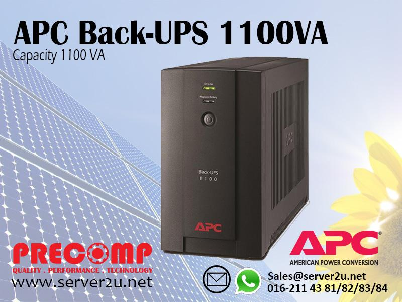 APC Back-UPS 1100VA (BX1100LI-MS)