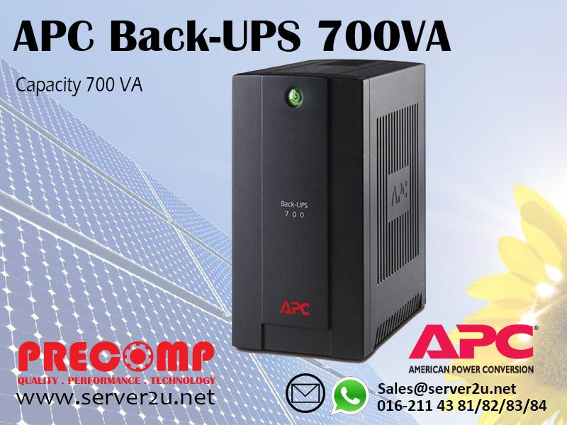 APC Back-UPS 700VA (BX700U-MS)
