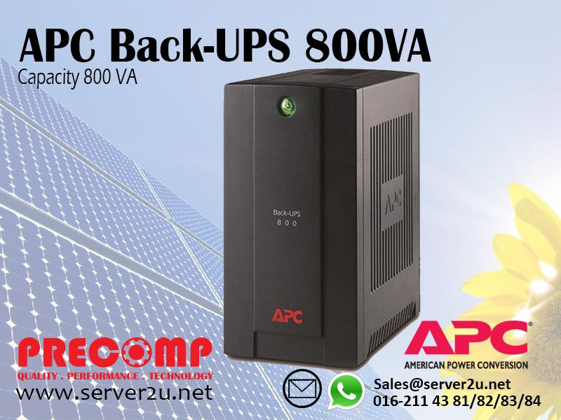 APC Back-UPS 800VA (BX800LI-MS)
