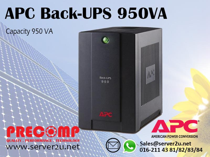APC Back-UPS 950VA (BX950U-MS)