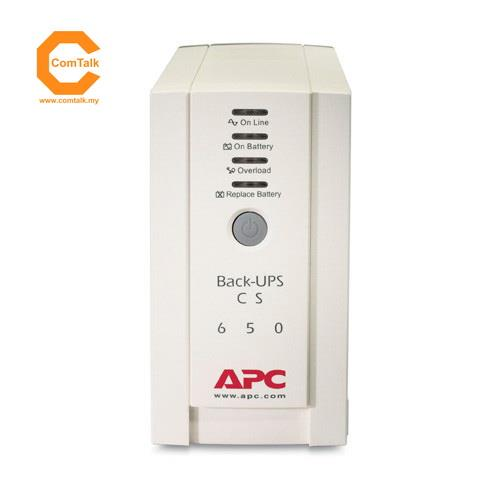 APC BACK-UPS CS 650VA BK650-AS