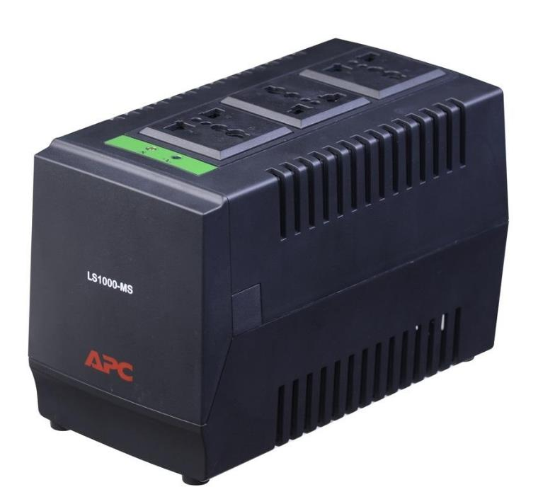 APC VOLTAGE REGULATOR LINE-R 1500VA 750WATTS LS1500-MS