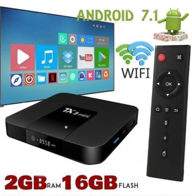 On The Go apk Tx3 mini Android TV Box Amlogic KODI 2GB/16G Android 7