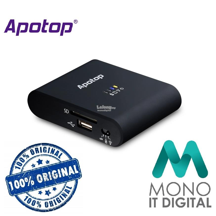 Apotop Wi-Copy DW21 Wireless Storage + Wireless Router + Power Bank