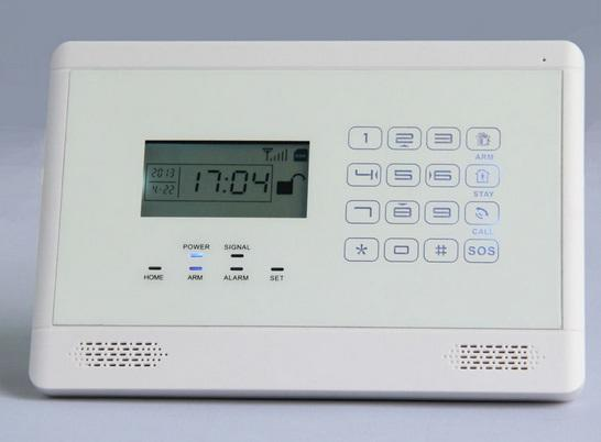APP Touch Panel GSM Wireless & Wired Alarm System