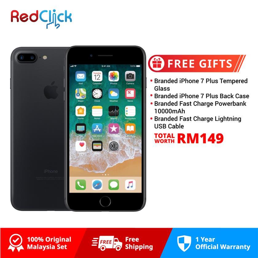 Apple 7 Plus (128GB) + 4 Free Gift Worth RM149