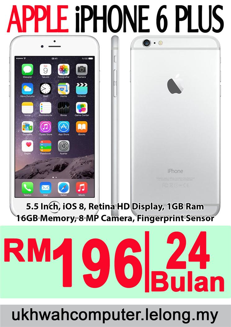 Apple i-Phone 6 Plus + HARGA ANSURAN (end 11 1 2016 1 56 PM) 885647bdd1