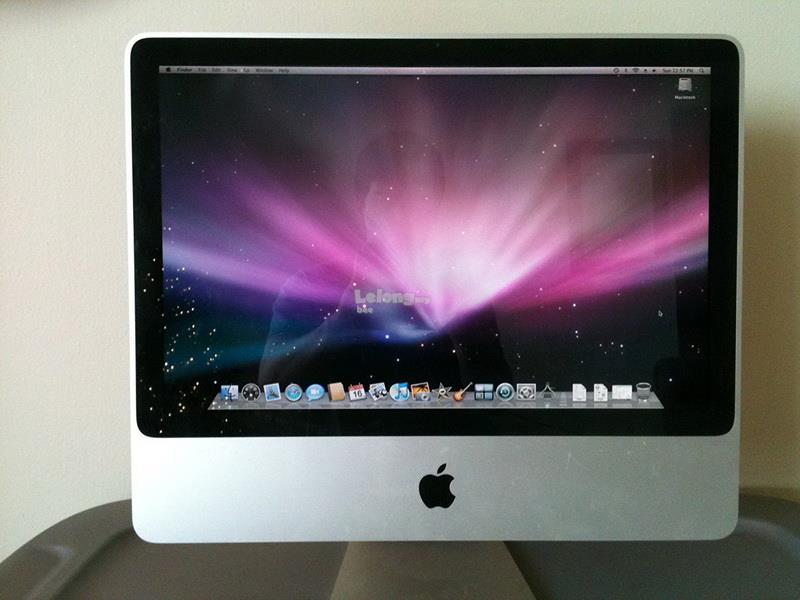 Apple iMac 24 Inch C2D 2.66Ghz,4Gb,640Gb hdd,Air port,Osx 10.5.8,A1225