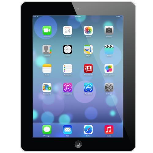 Apple iPad 3 WiFi 64GB Black (Free Tempered Glass)