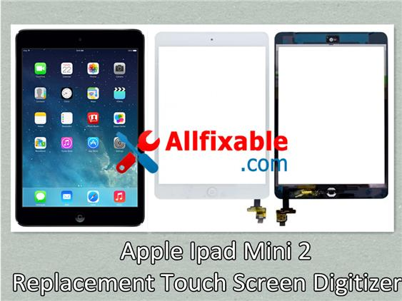 Apple Ipad Mini 2 Broken - Touch Screen Digitizer replace change