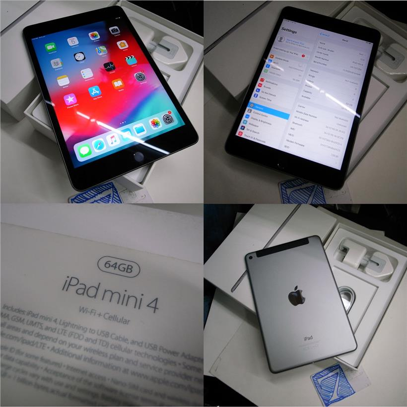 Apple IPad Mini 4 64GB WiFi 4G Cellular 7 9 Retina Display Rm1380